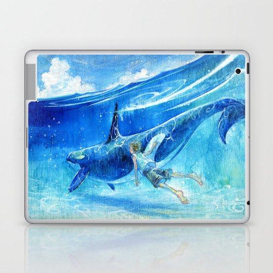 Into the blue Laptop & iPad Skin