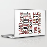 the national Laptop & iPad Skins featuring National Anthem by Veronica Rogers