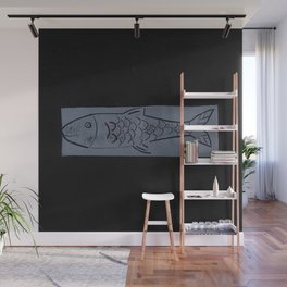 laying fish Wall Mural