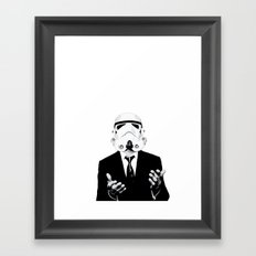 GQ Trooper Framed Art Print