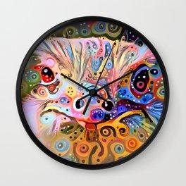 Trippy Man Wall Clock