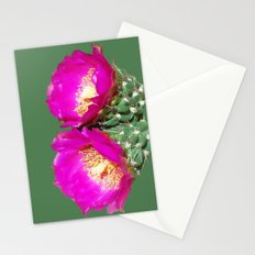 Magenta Twins Stationery Cards