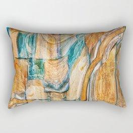 Southwest Desert Abstract Rectangular Pillow