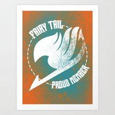 Fairy Tail Art Print