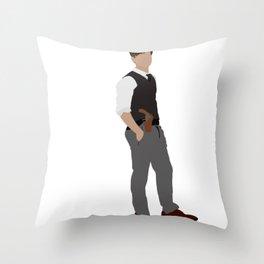 spencer reid Throw Pillow