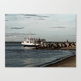 Ferry Take Me Away Canvas Print