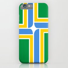 portland city flag united states of america iPhone 6s Slim Case