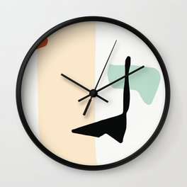 Matisse Shapes 3 Wall Clock