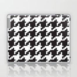 Houndstooth - Black & White Laptop & iPad Skin