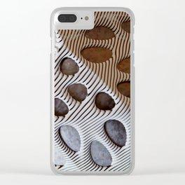 Zebra Mesh Clear iPhone Case