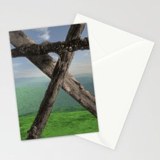 THE MONUMENT, LOOKING NORTH Stationery Cards