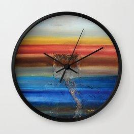 Of the Earth 3 by Nadia J Art Wall Clock