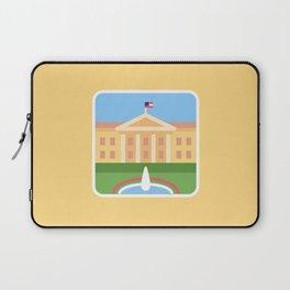 "Trumpation - White ""Golden"" House Laptop Sleeve"