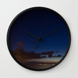 Light pollution Wall Clock