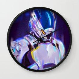NEON Scott Ryder - Fan Art Wall Clock