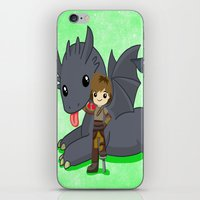 how to train your dragon iPhone & iPod Skins featuring How to Train Your Dragon 2 by Mayying