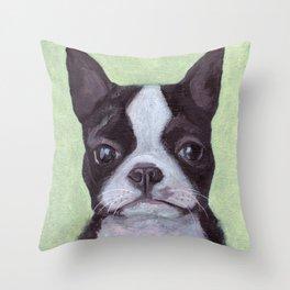 Jackson the Dog Throw Pillow