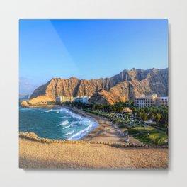 Shangri la resort Muscat Oman Metal Print