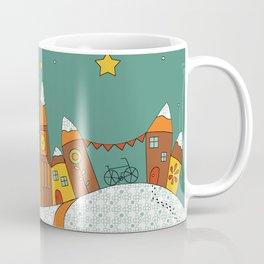 Winter Village Coffee Mug