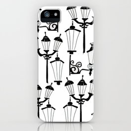 Street lamps iPhone Case