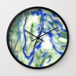Encaustic Horse Wall Clock