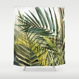 Arecaceae - household jungle #2 Shower Curtain