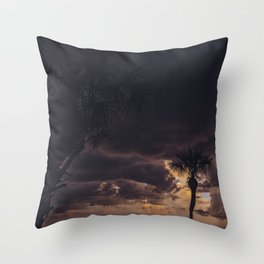 Ocean Storm Throw Pillow