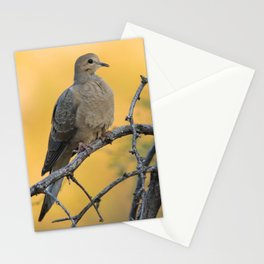 It was a beautiful mourning, right dove? Stationery Cards