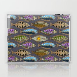 Alaskan halibut dusk Laptop & iPad Skin