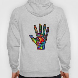 Folk Art Hand Hoody