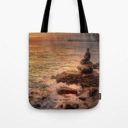 Folkestone At Sunrise Tote Bag
