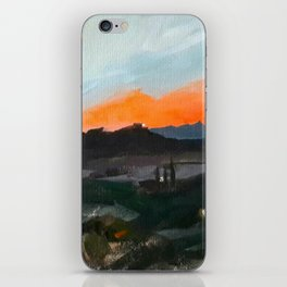 Sunset Over the Superstitions iPhone Skin