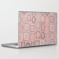 frames Laptop & iPad Skins featuring picture frames mimosa by Sharon Turner