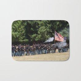 Civil War Battle Re-Enactment Bath Mat