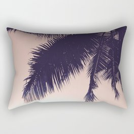 Palm Sunrise Rectangular Pillow