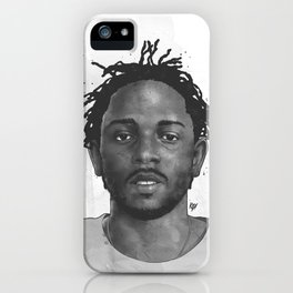 Kendrick iPhone Case
