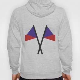 Czech Republic flag Hoody