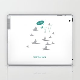"""Sing Your Song"" Laptop & iPad Skin"