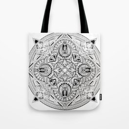 Lost Mandala  Tote Bag