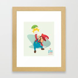 Mario | Nintendo All-Stars #5 Framed Art Print