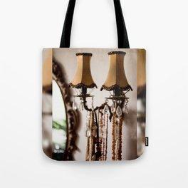 Decorative retro night lamp Tote Bag