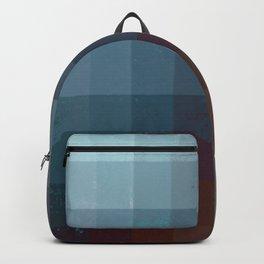 Geometric Earth Tones Backpack