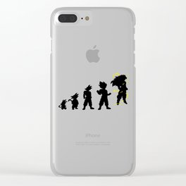 dragonballZ evolution Clear iPhone Case
