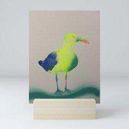 Blue Wave Feed Me Weird Things by Barrie J Davies 2020 Mini Art Print