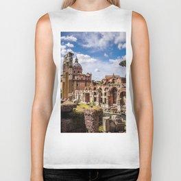 Roman Ruins Biker Tank