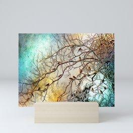 Out On A Limb Jewel Tones Mini Art Print