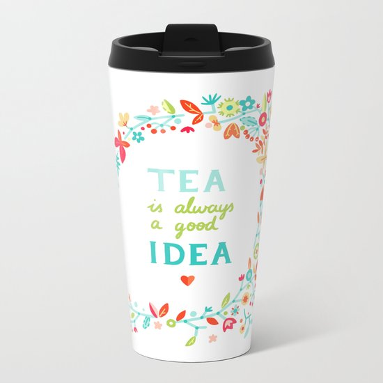 Tea Idea Metal Travel Mug