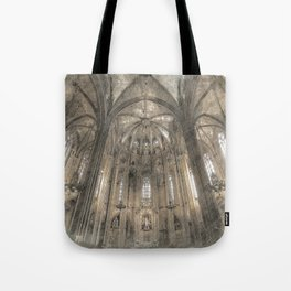 Cathedral in Tote Bag