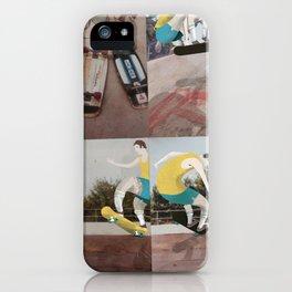 Retro Skater dude iPhone Case