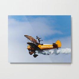 Breitling Metal Print